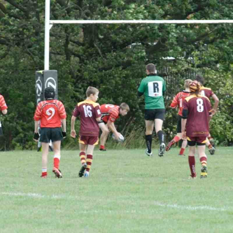 Under 14's vs Sedgley Park 11/9/11