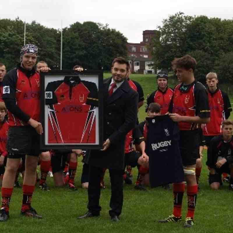 U16s vs Oldham 15/09/13
