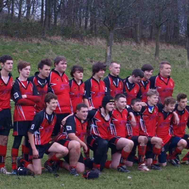 u16s vs Tyldesley 15/12/13