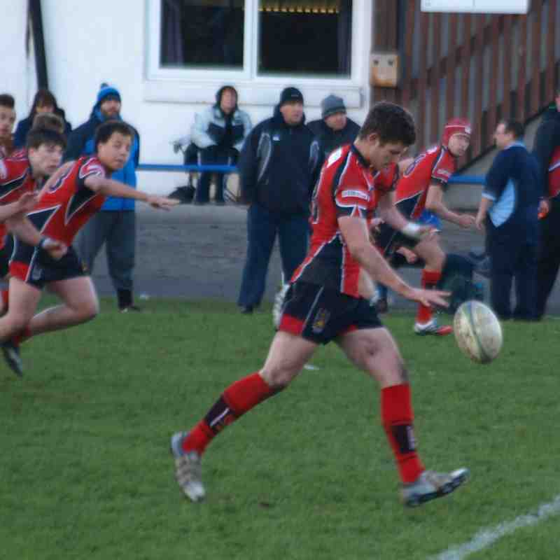 U17s vs New Brighton 7/12/14