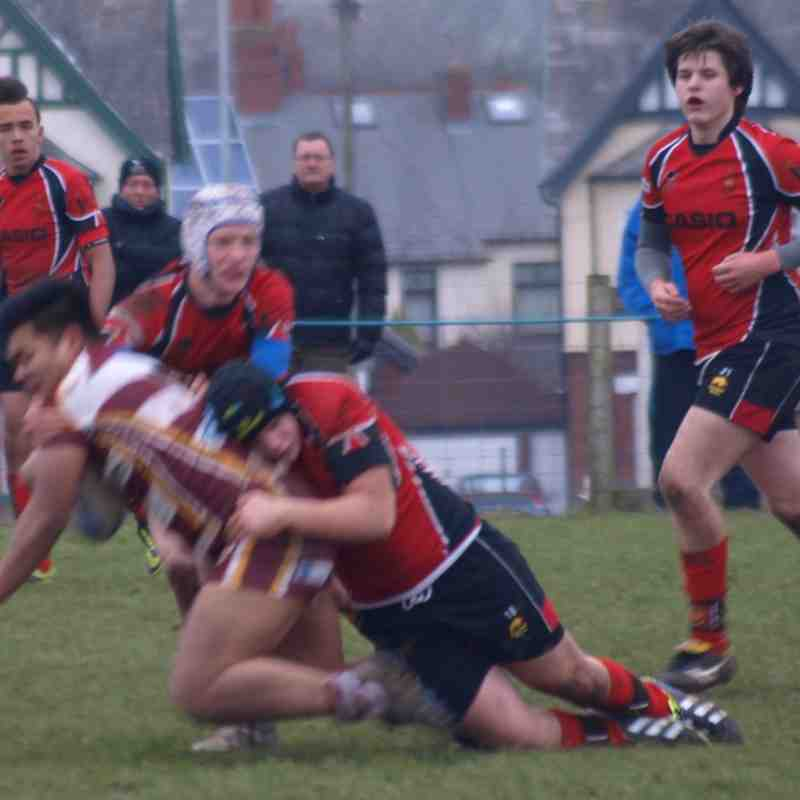 U17s vs Hawcoat Park 250115