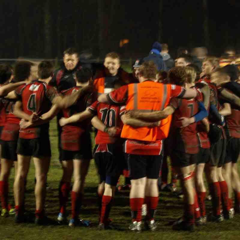 U17s vs Heaton Moor 25/2/15