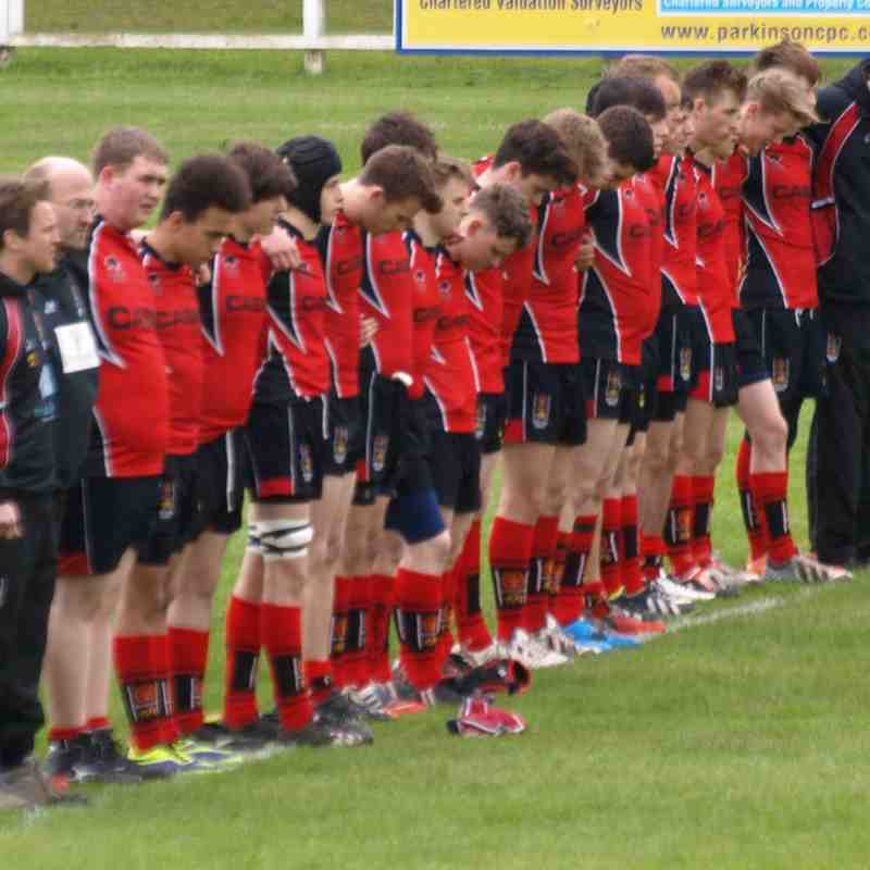 Alan James U17s Final 3/5/15 vs Manchester