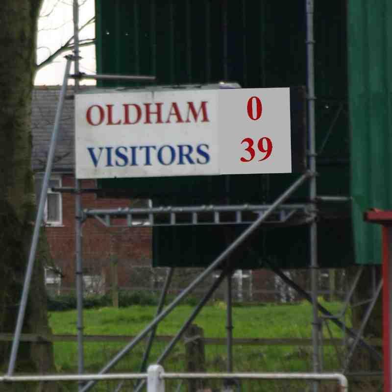 u18s vs Oldham 24/1/16