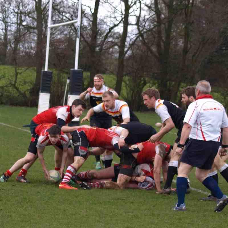 2nds vs Crewe&Nantwich 9/4/16