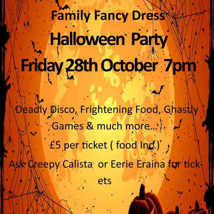Halloween Family Fancy Dress Party