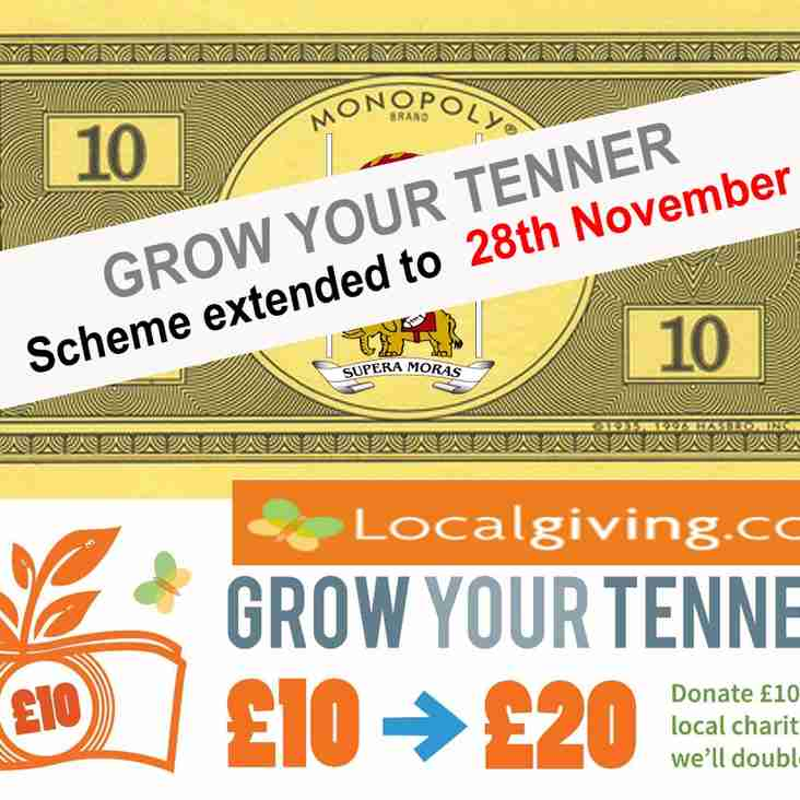 FREE tenners for Bolton RUFC extended to 28th November