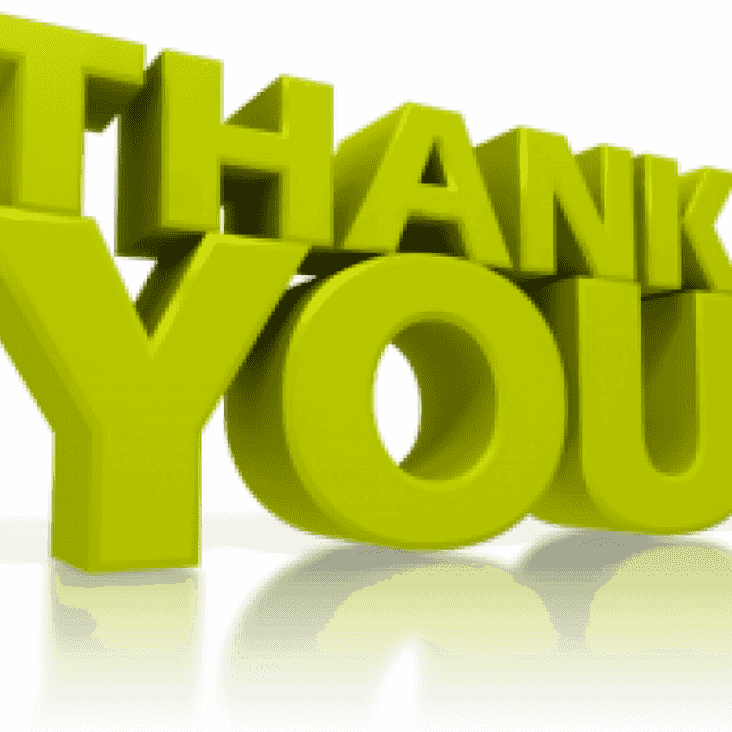 A huge THANK YOU for ALL who donated to our Crowdfunding