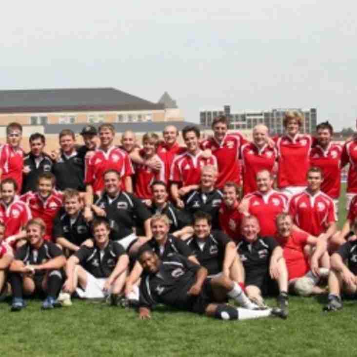DU Alumni Lose Close Match to Current Squad