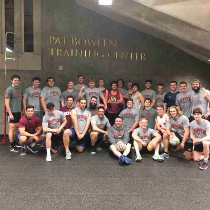 DU Rugby completes Stu90X cycle