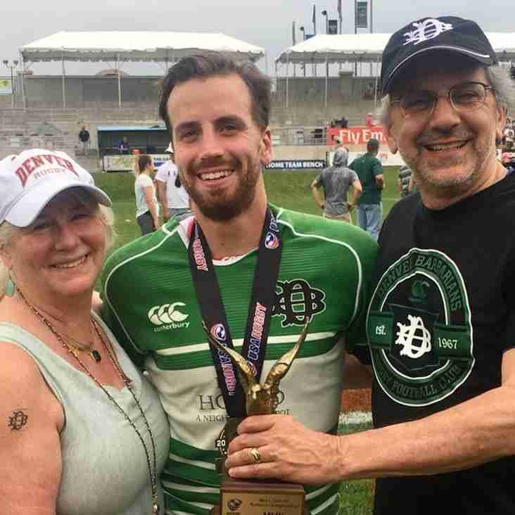 Congratulations to Alumnus Gabe Bram & Denver Barbarians on Championship
