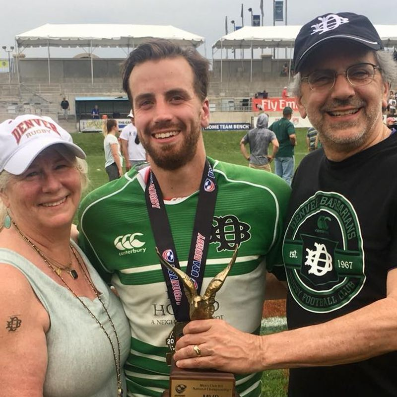 Congratulations to Alumnus Gabe Bram & Denver Barbarians on Championship