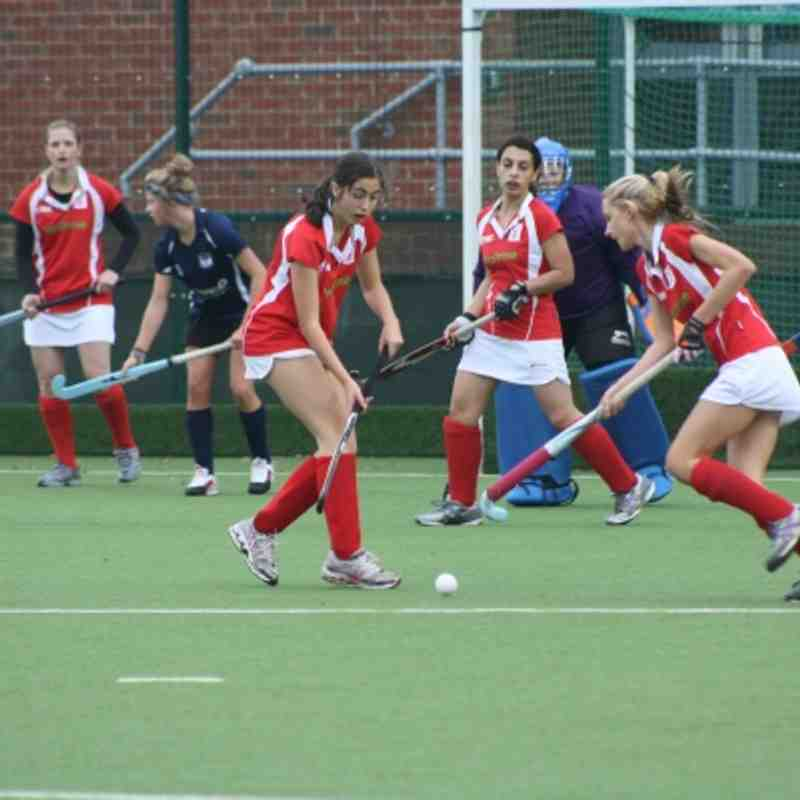 Yateley Ladies 2s V Isle of Wight