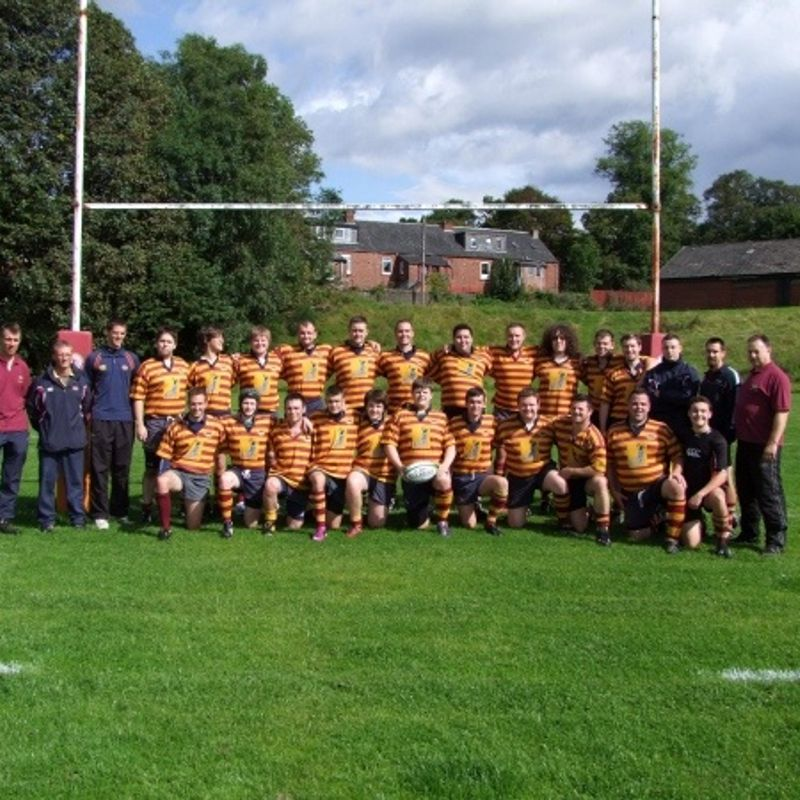 1st Team lose to Uddingston 20 - 17