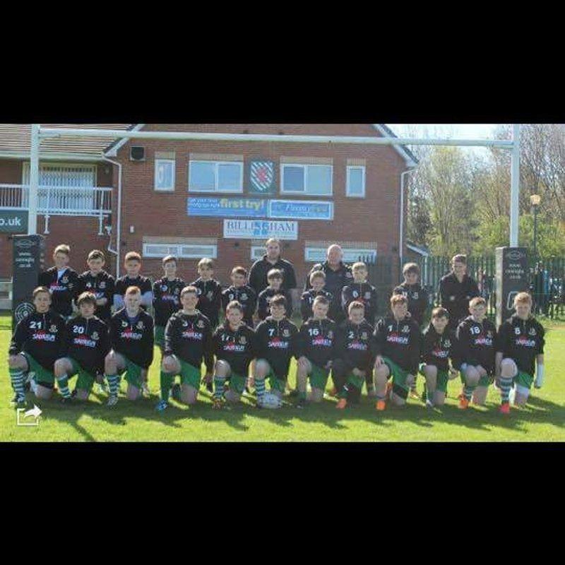 Billingham U16s lead Carlisle 46 - 5