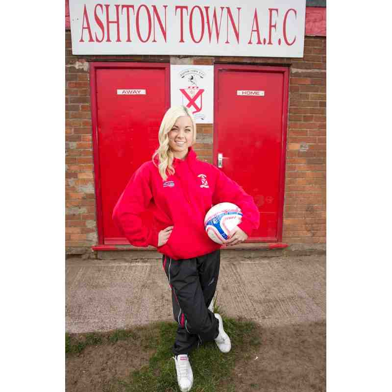 Ashton Town Red Hooded Top