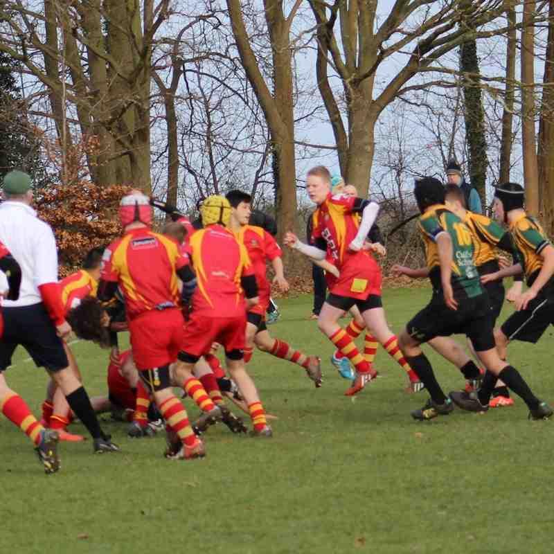 Under 15s vs. Cambridge