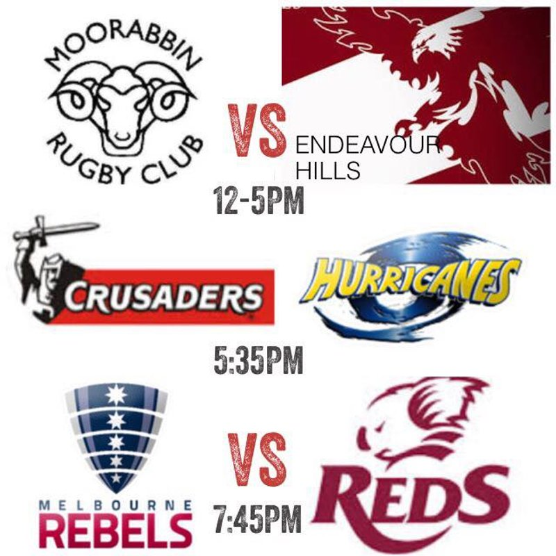 Home Games vs Endeavour Hills this weekend
