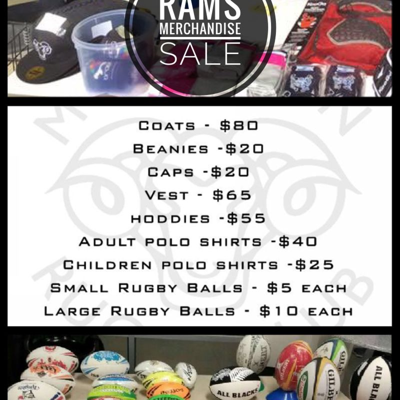 Moorabbin Rams 2017 Merchandise