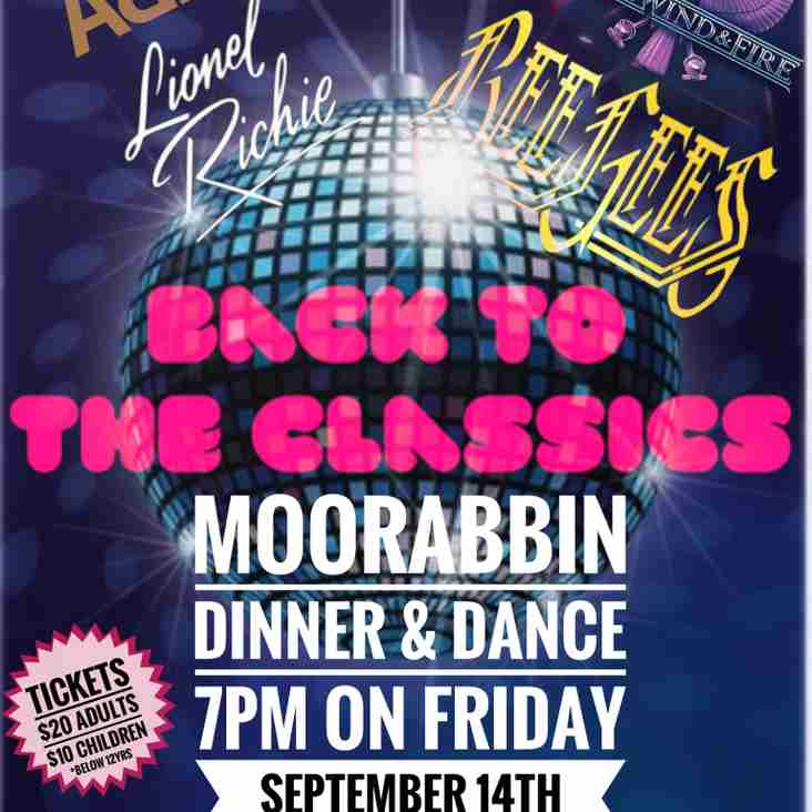 Back to the Classics Dinner & Dance