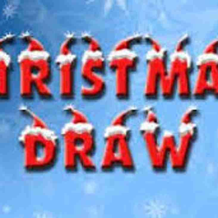 Denbigh Town Football Club Christmas Raffle 2016 Winners