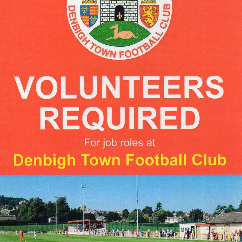 Volunteers required.