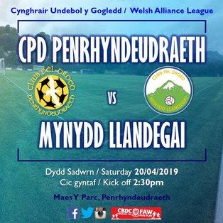 CPD Penrhyndeudraeth 2-3 Mynydd Llandegai