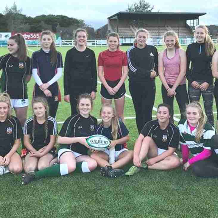 PRUFC Girls rugby - Come & try it - your very welcome