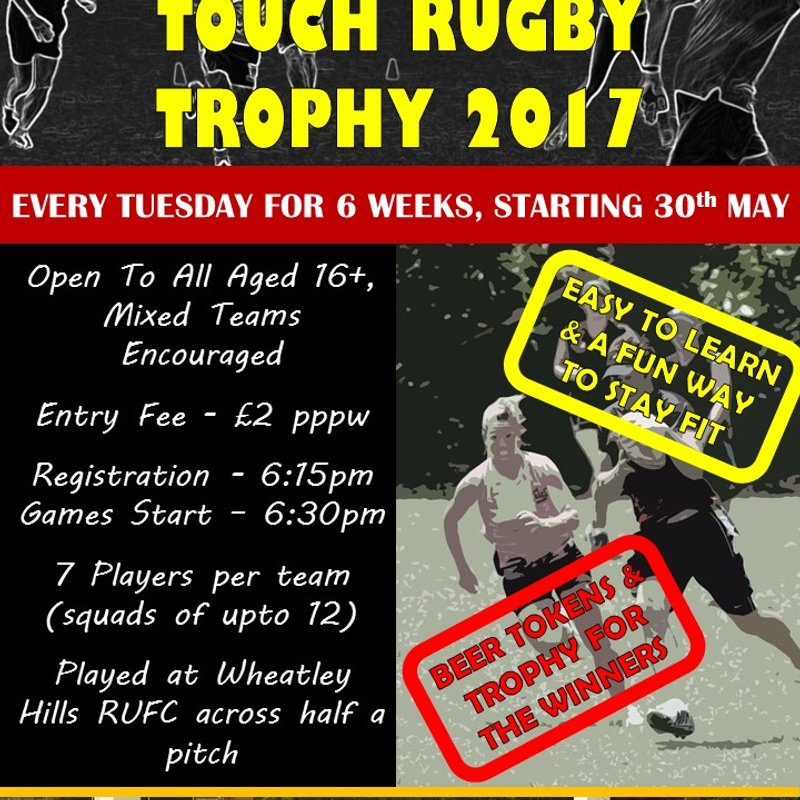 Touch Rugby is Back for 2017