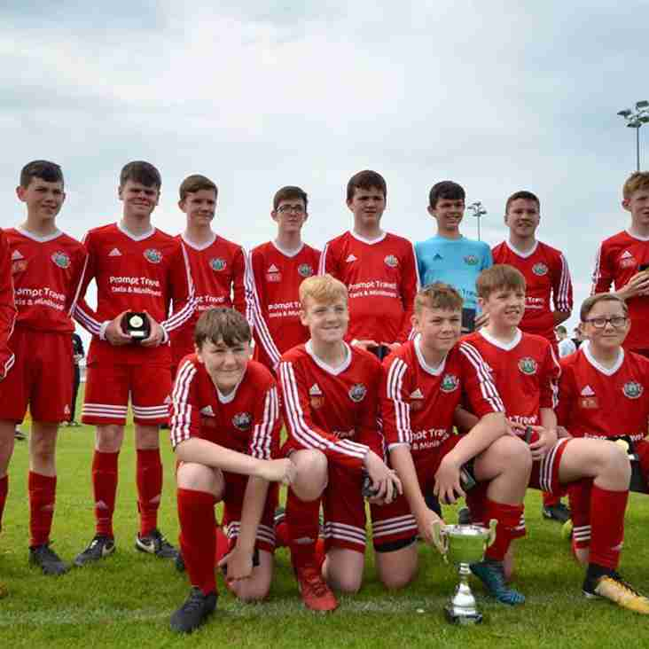 Congratulations to u14s for winning Cup