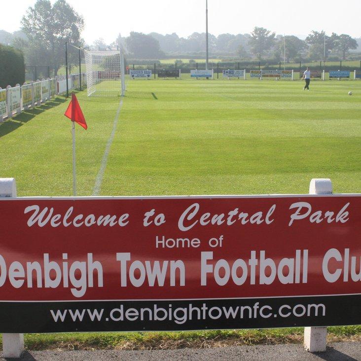 Busy weekend at Denbigh Town FC!<