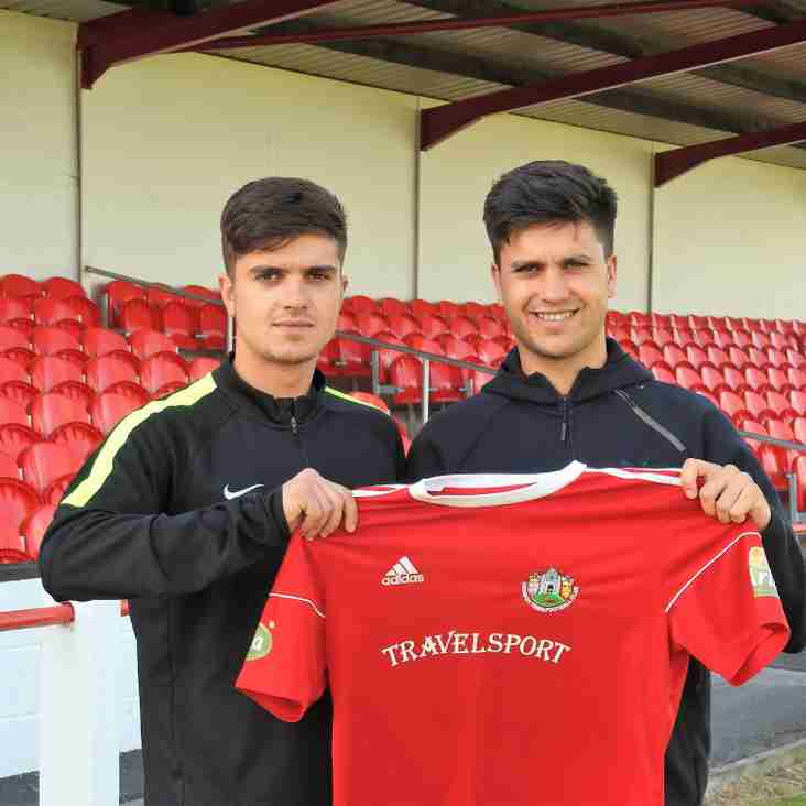 Local brothers sign for Denbigh Town