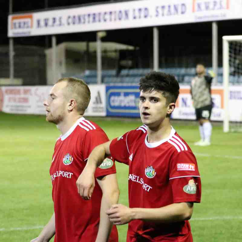 Rhyl v Denbigh Town 14 Sep 18 Huws Gray Cup