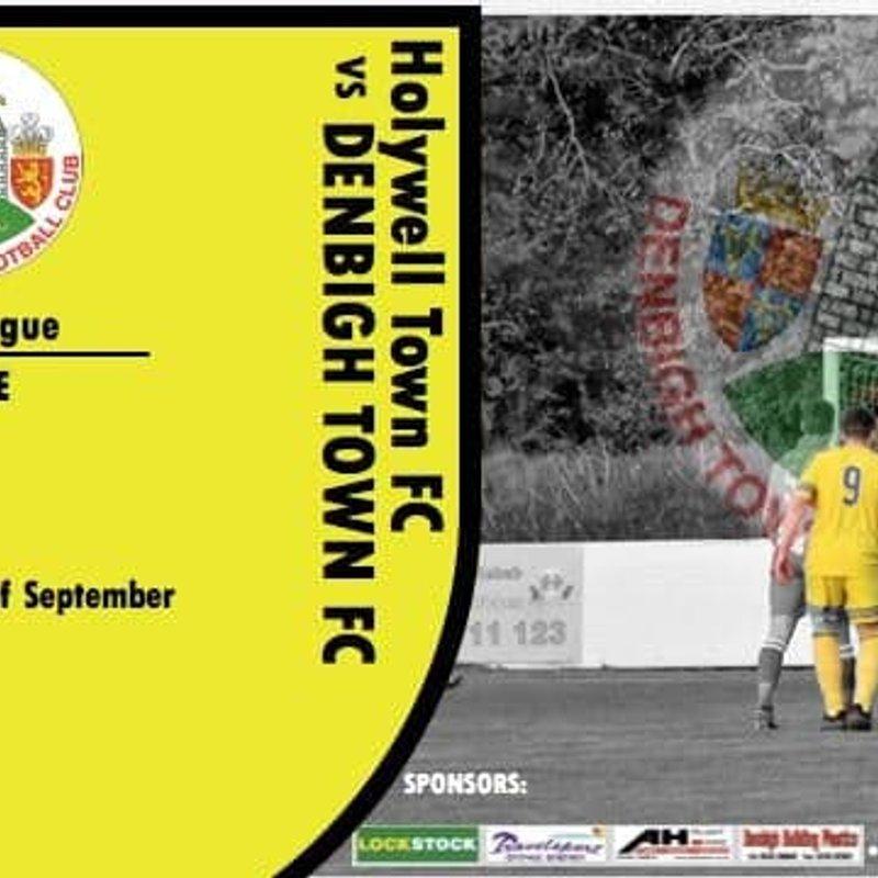 Match Preview: Holywell Town v Denbigh Town