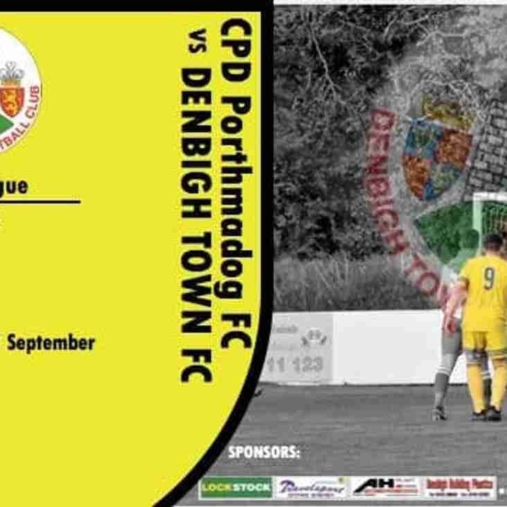 Match Preview: Porthmadog v Denbigh Town