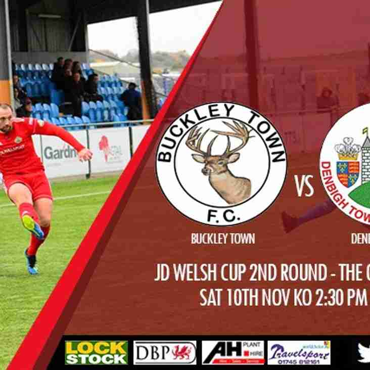 Match Preview : Buckley v Denbigh Town JD Welsh Cup Round 2