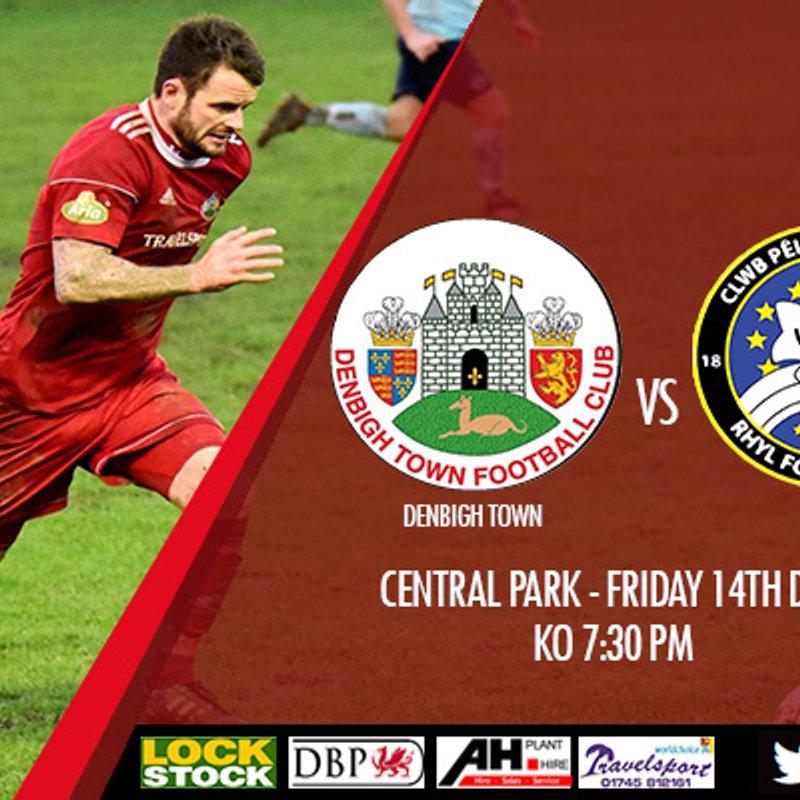 Match Preview: Denbigh Town v Rhyl