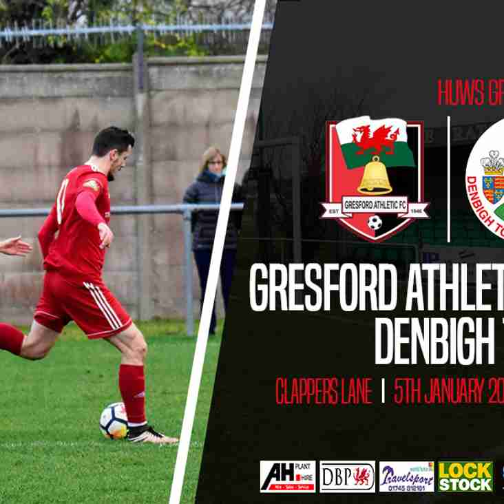 Match Preview  Gresford Athletic v Denbigh Town Sat 5 Jan 2019 2pm