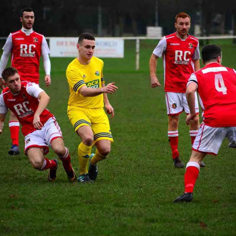 Gresford v Denbigh Town 5 Jan 2018