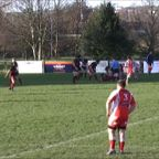 Phil Dickinson try Vs Barnstaple RFC