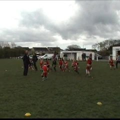 William 'Swivel Hips' Eastell skins everyone V Keighley 2012 U8's
