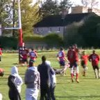 Michael Starkey try v Lenzie