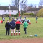 David Smart 1st try for Clydebank VETs v GHA
