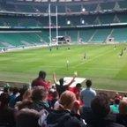 Twickenham - Cross Field Kick