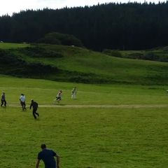 Glengorm 3 fielders converge