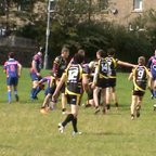 Mikey Hat Trick try v Harehills