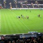 Hull Wyke u8's at The KC Stadium