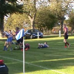 Brad Stovell's try v Ashington Sat.8th Oct. 2016