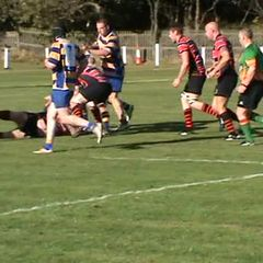 Ben Durrans 1st try v Ashington Sat. 8th Oct. 2016