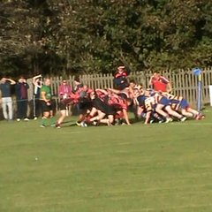 Steve Bryce's try v Ashington Sat. 8th Oct. 2016